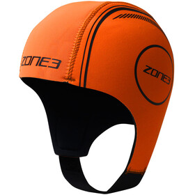 Zone3 Neoprene Swimming Cap badmuts oranje